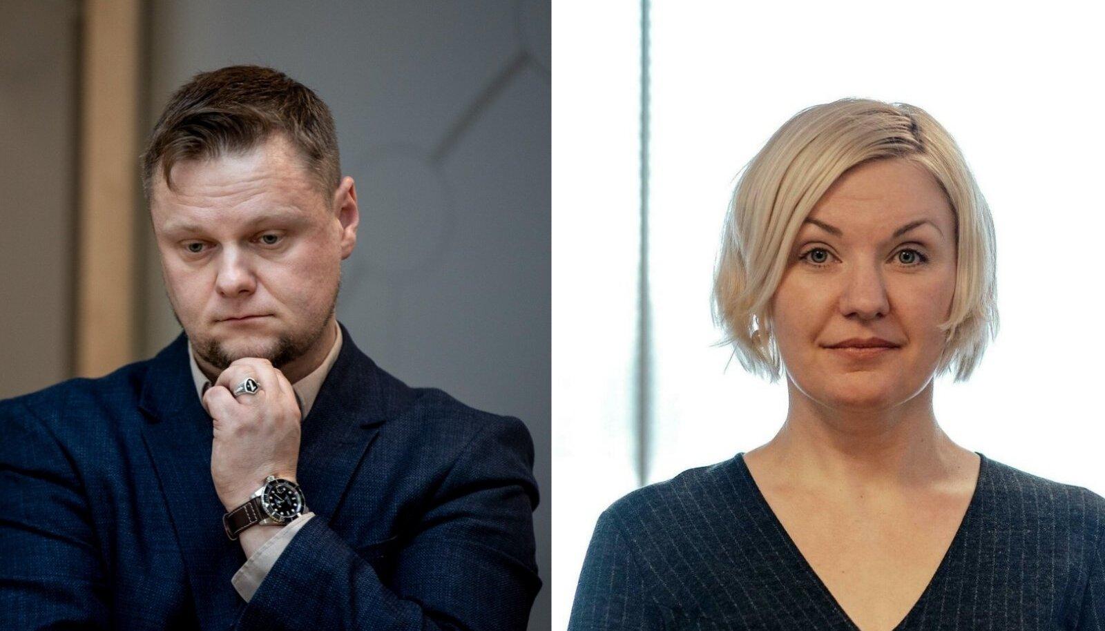 Simmo Saar ja Eike Kingsepp
