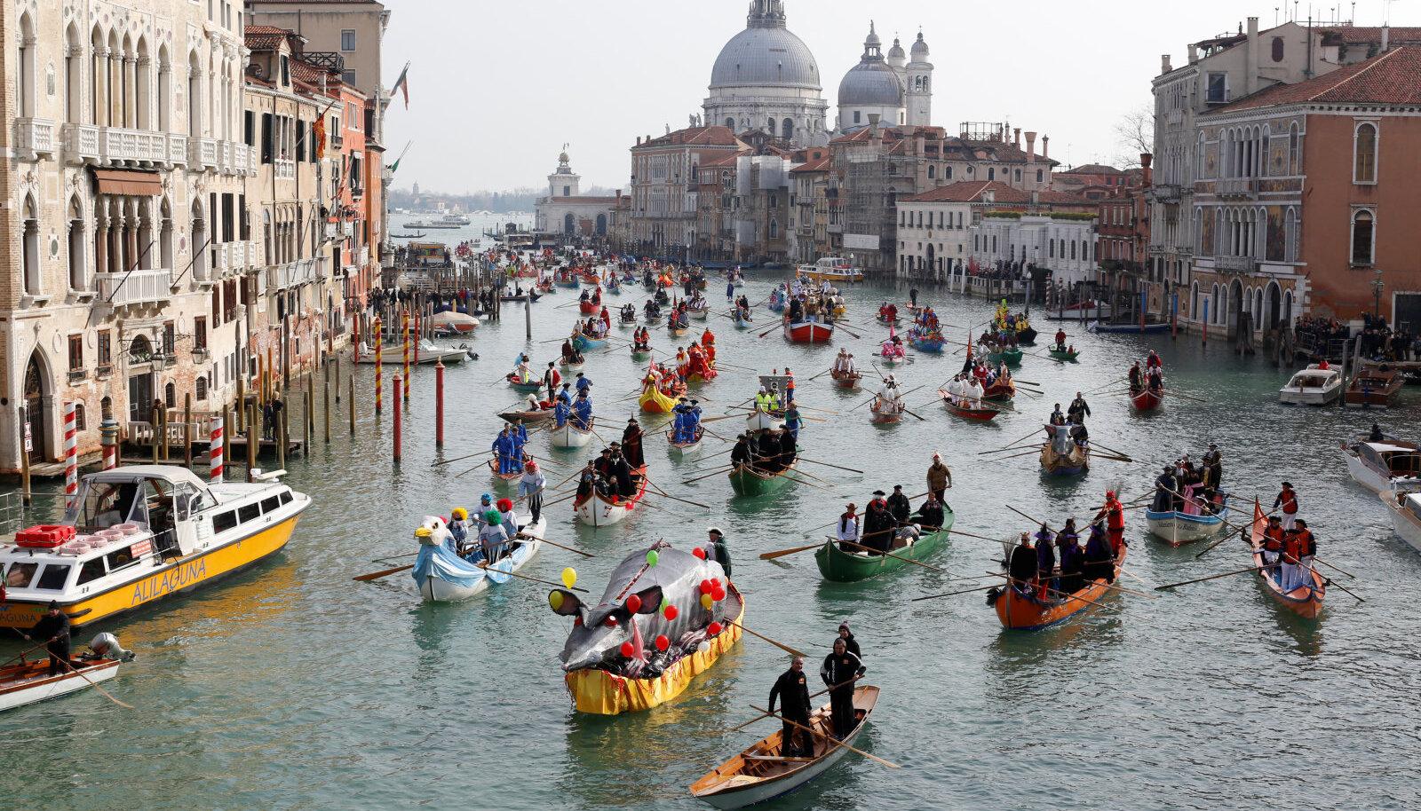 Karneval Veneetsias.
