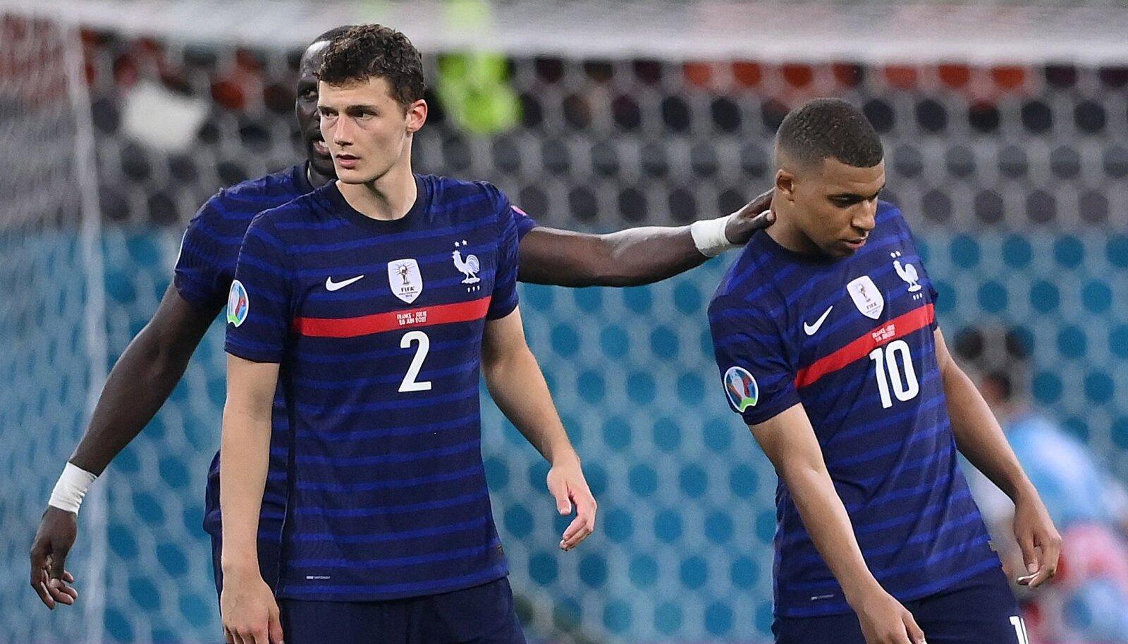 Prantsuse koondislased lohutavad Kylian Mbappet