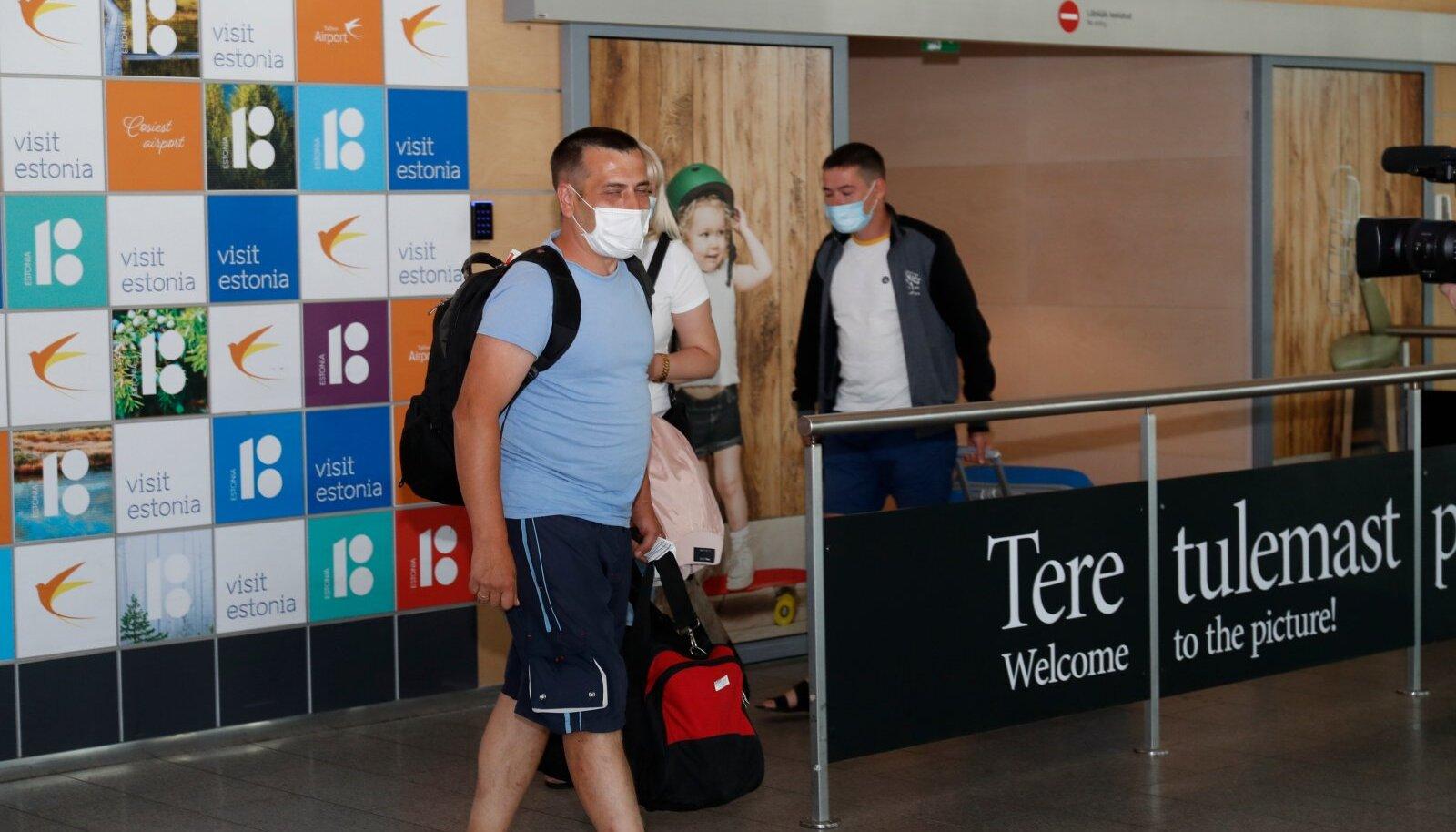 Ukraina töölised saabusid Eestisse