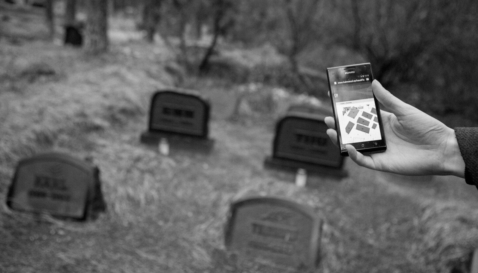 Raske öelda, kas digitaalne surnuaed taskus on digiajastu absurd, koledus või paleus.