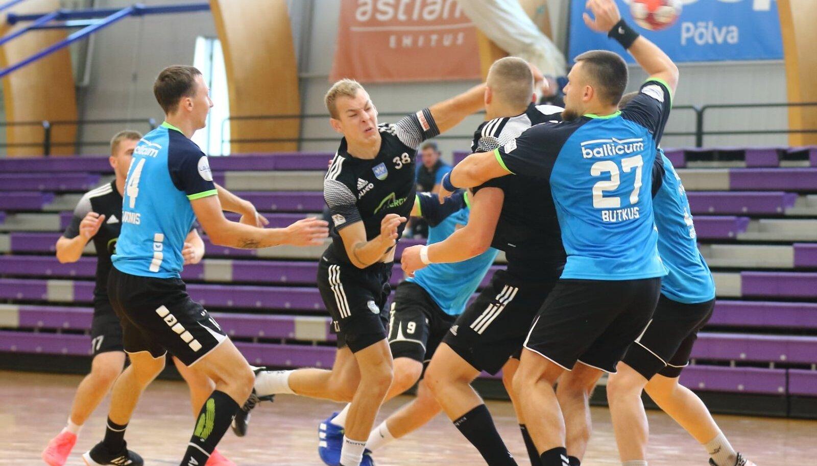 Klaipeda Dragunasega kohtus SK Tapa hooajaeelsel Põlva Cupil, nüüd minnakse Balti liiga tiitlikaitsjaga vastamisi ametlikus mängus. Viskel Ilja Kosmirak.
