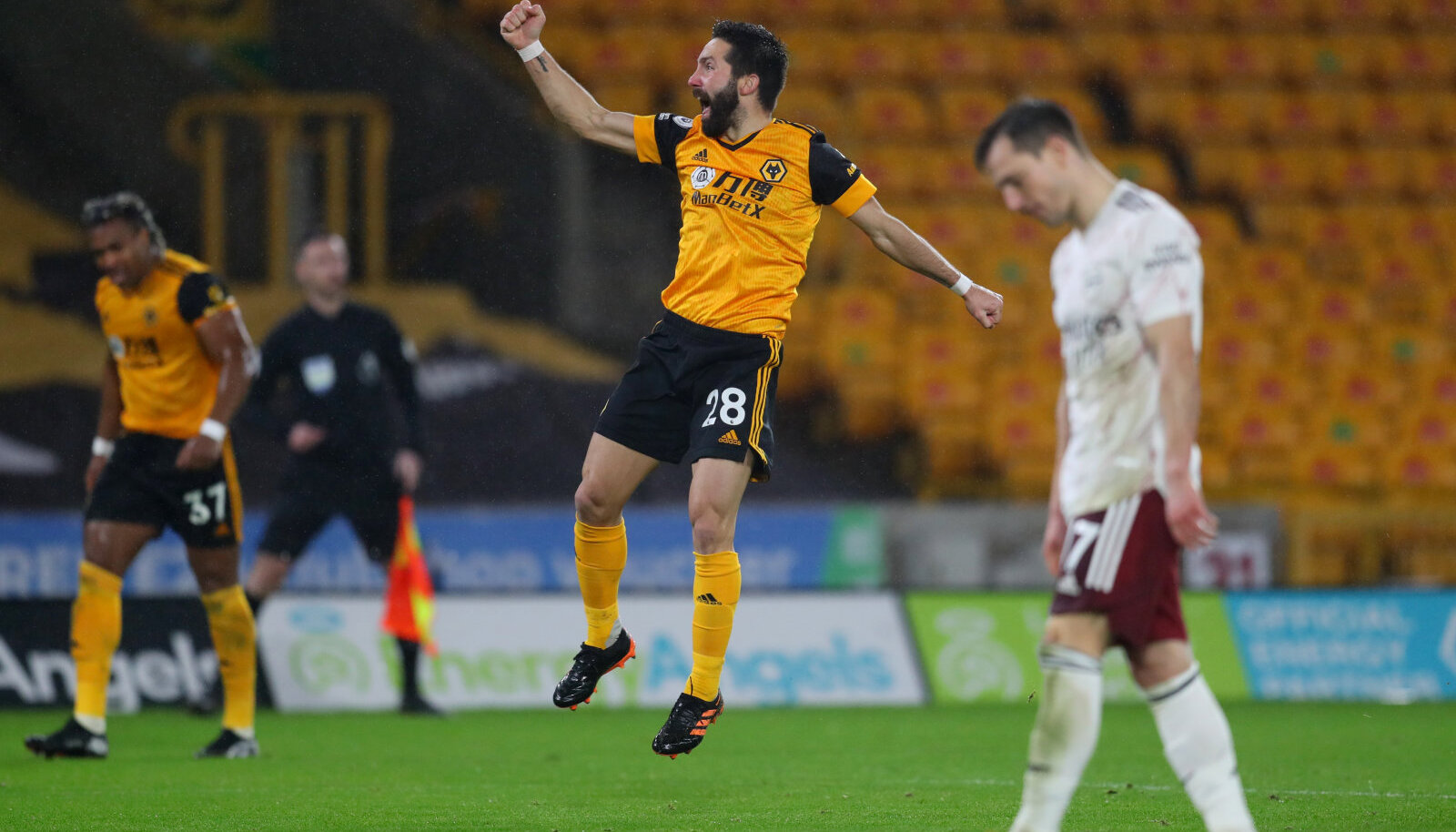 Joao Moutinho lööb Wolvesi värava