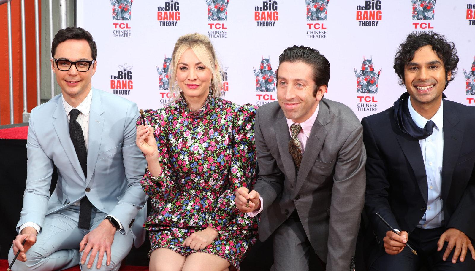 """""""The Big Bang Theory"""" osatäitjad"""