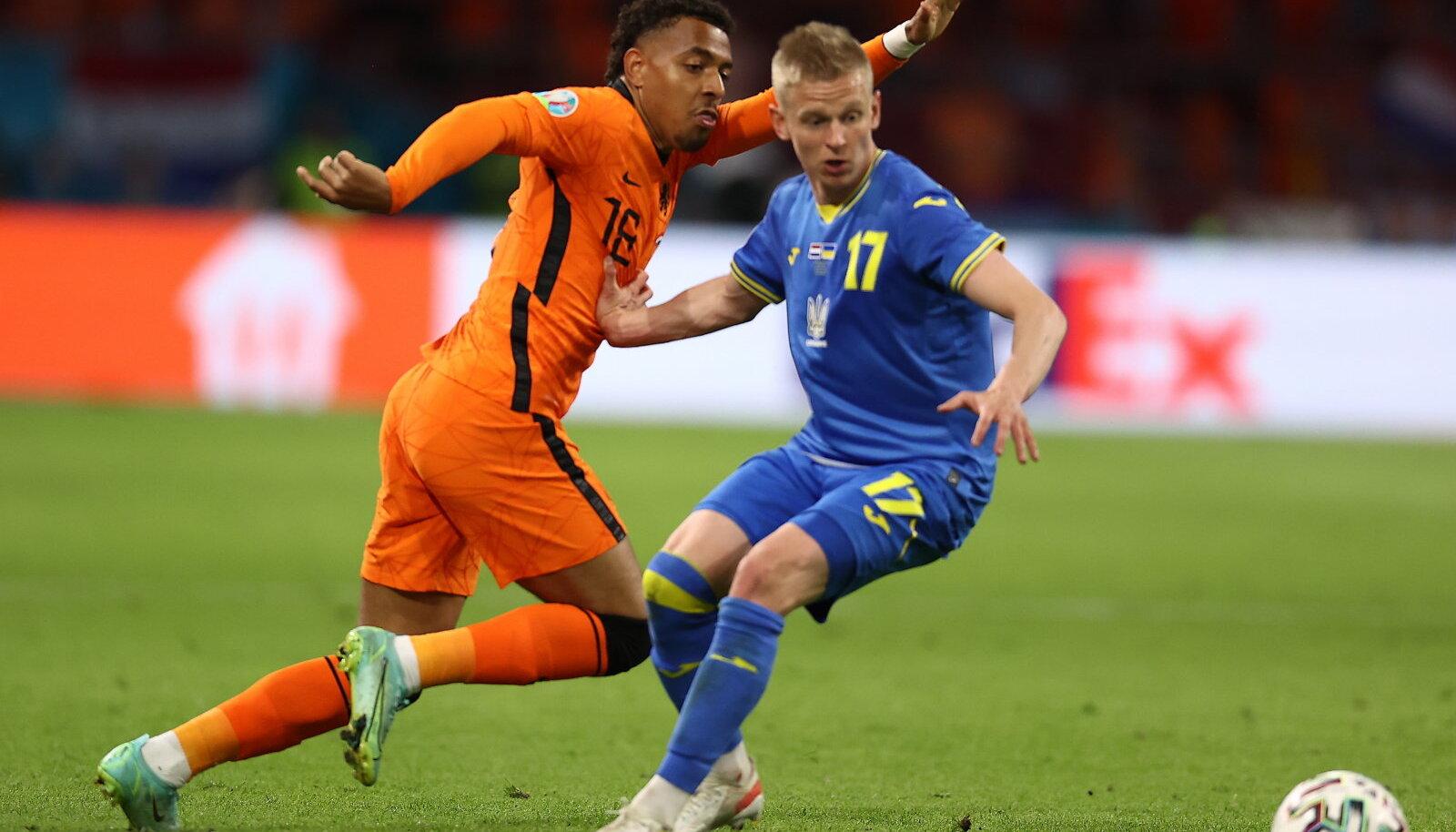 Holland võitis Ukrainat 3:2.