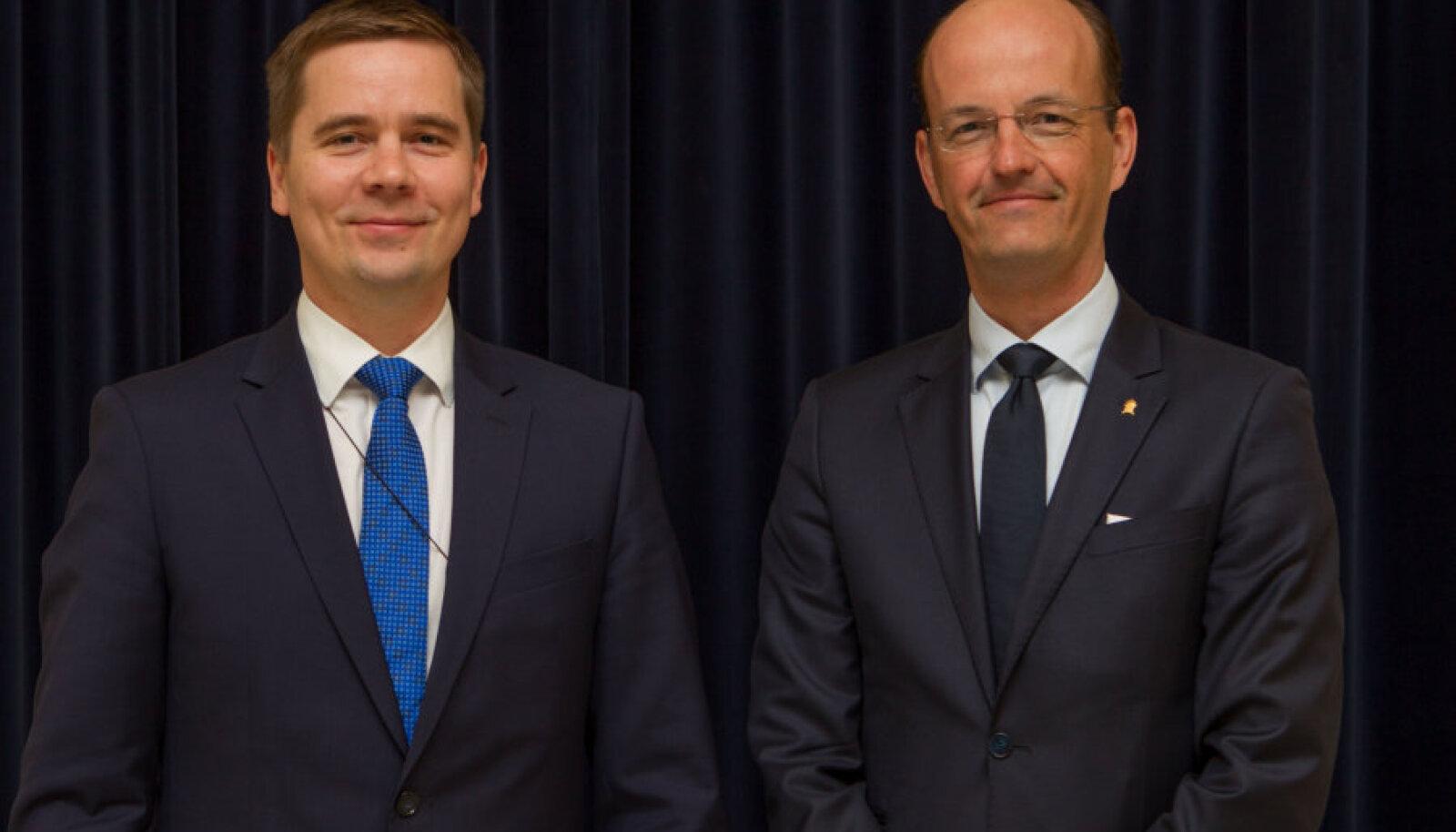 Mikk Marran ja Carl von der Esch