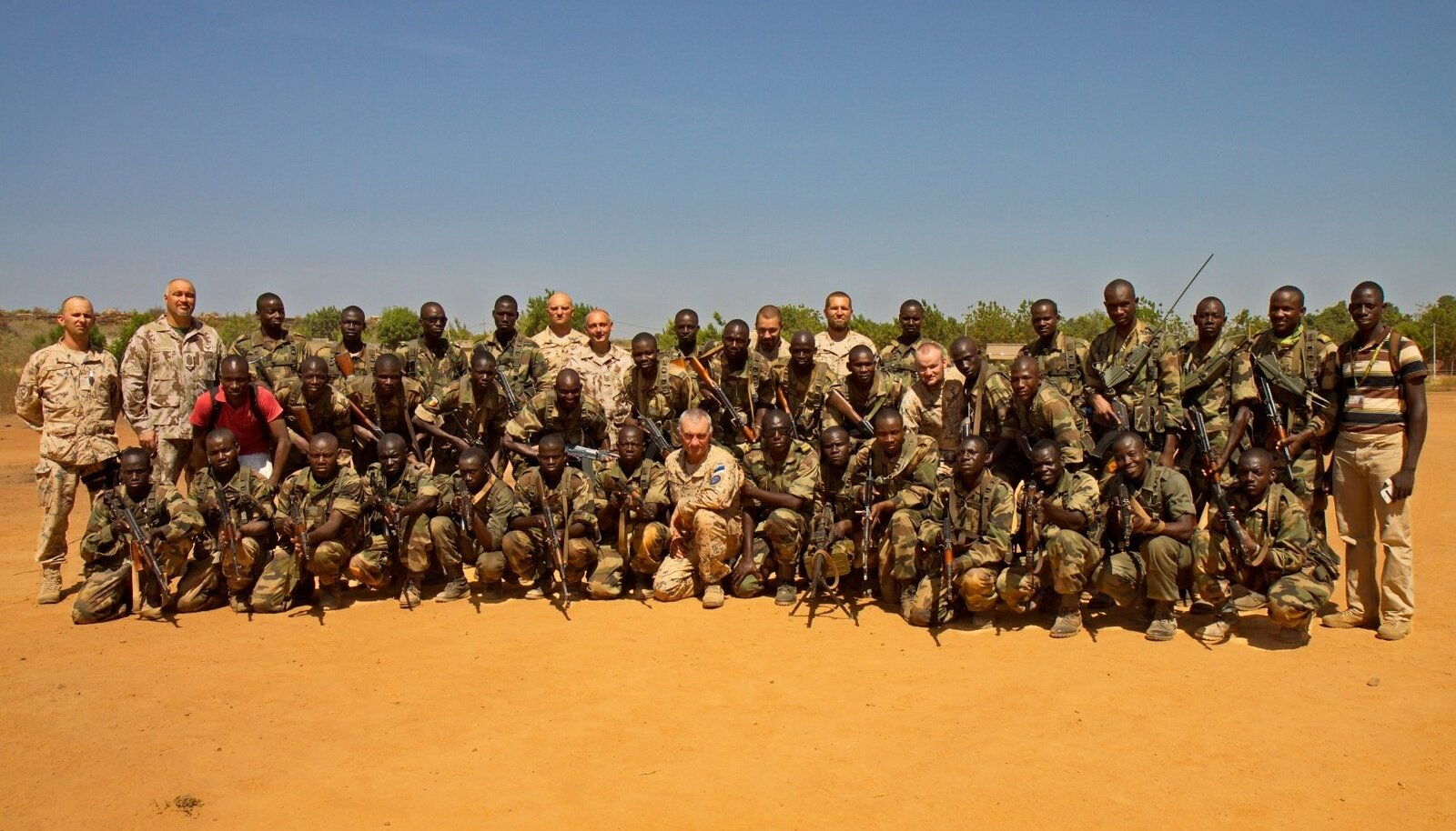 2013. aastal said kaitseväe instruktorite käe all väljaõppe paljud Mali sõdurid.