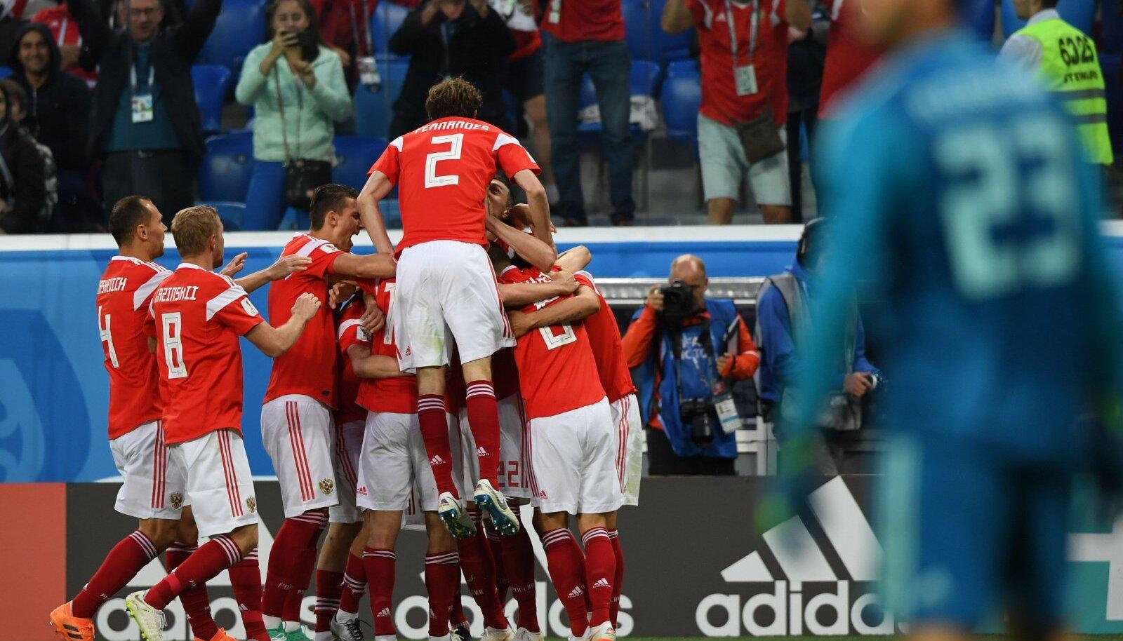 Venemaa jalgpallurid