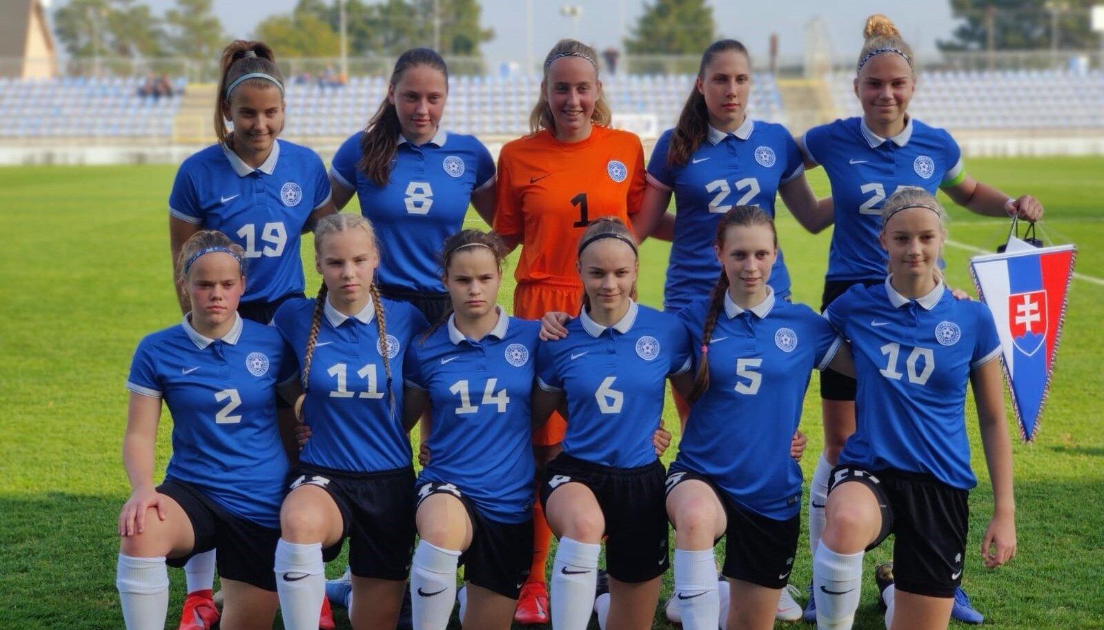 Eesti U17 jalgpallinaiskond