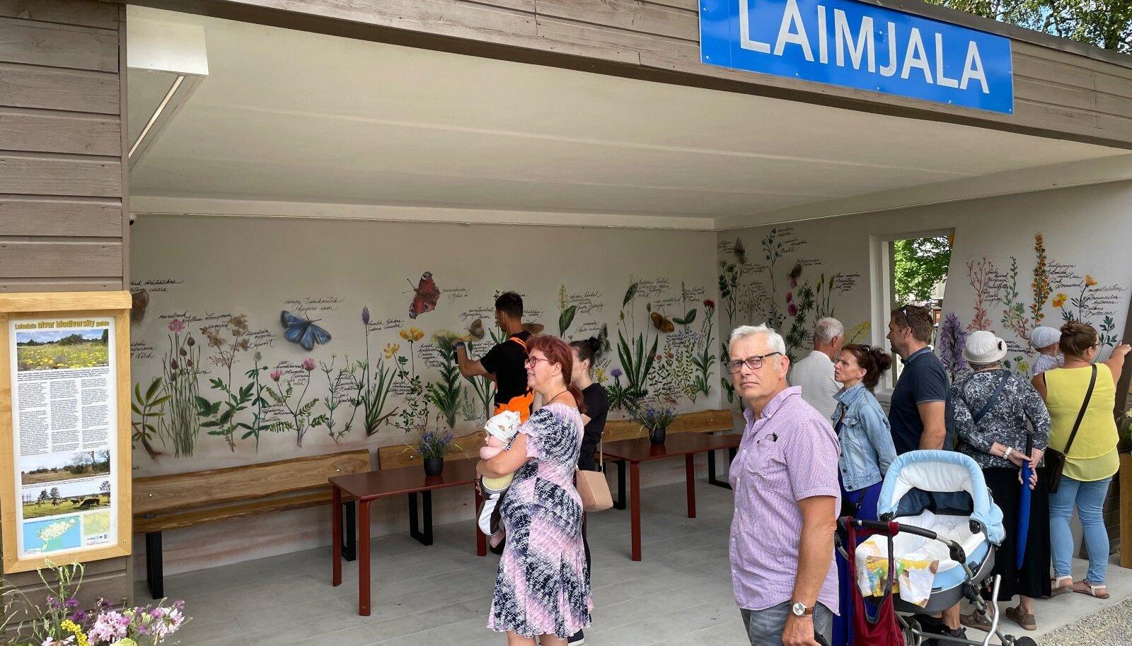 Praegusel kiirel ajal võiks inimesed kas või bussiootamise ajal neid taimi ka nimepidi tundma õppida, leiab Laimjala bussipeatuse uuendamisele hoo sisse lükanud Mare Kallas.