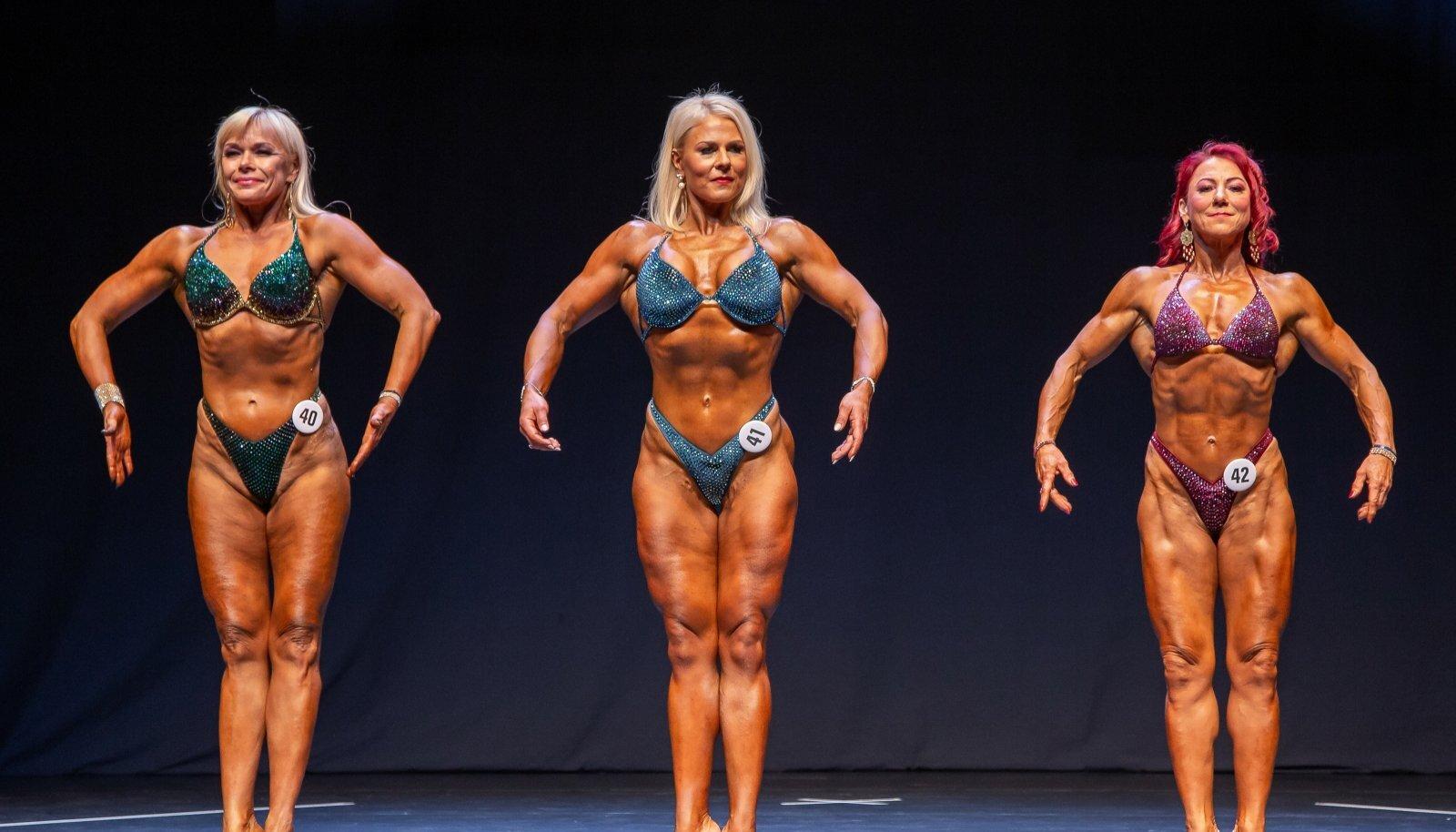 Fitnessi ja kulturismi meistrivõistlused Pärnus. Esta Pilt paremal.