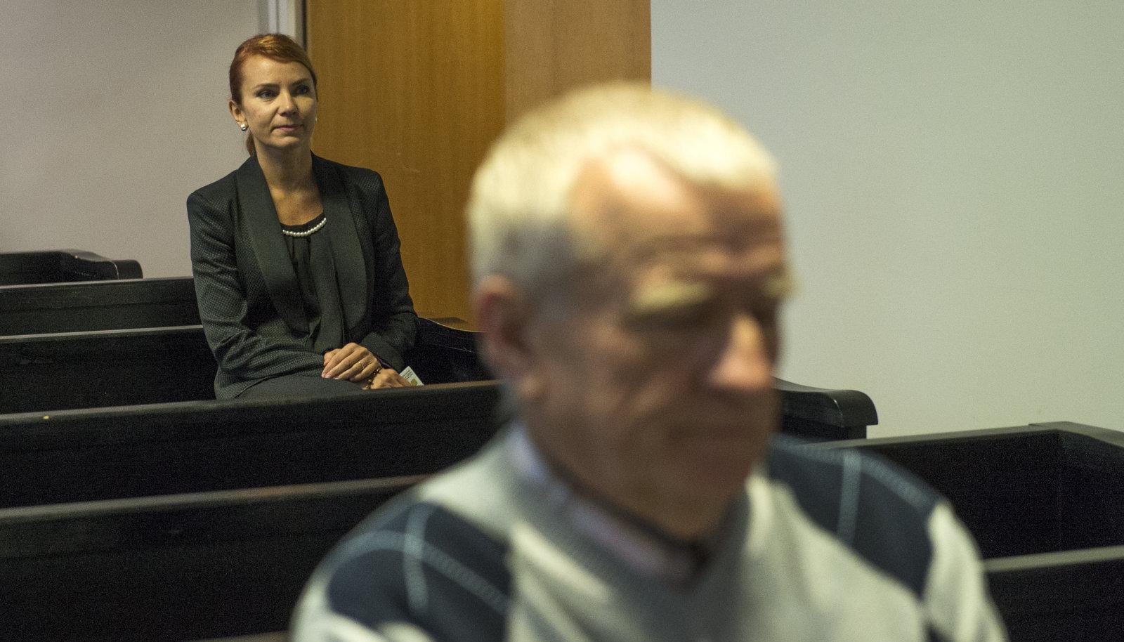 Keit Pentus-Rosimannus ja Väino Pentus 2015. aastal kohtus.