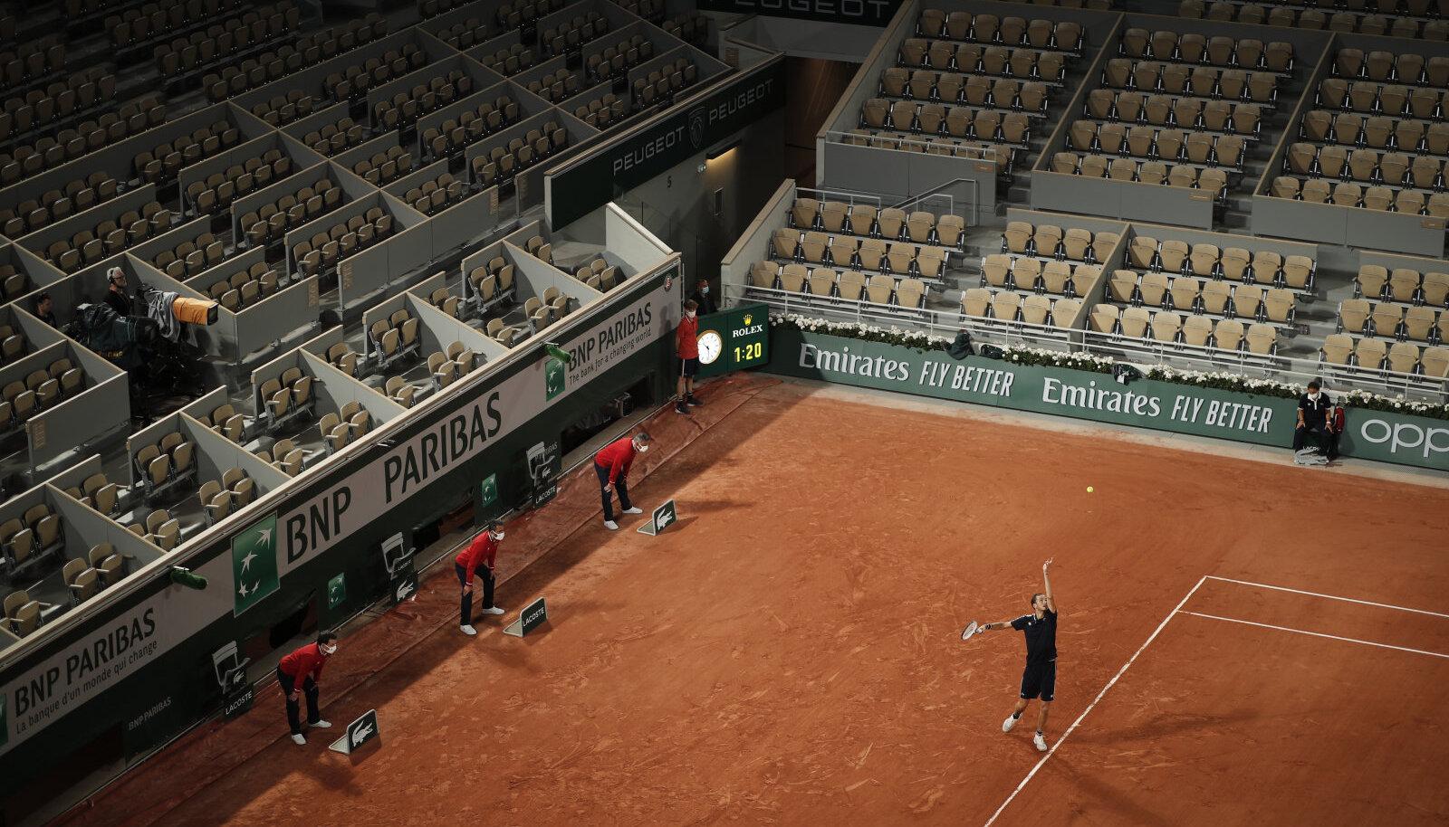 French Open. Pilt on illustratiivne.