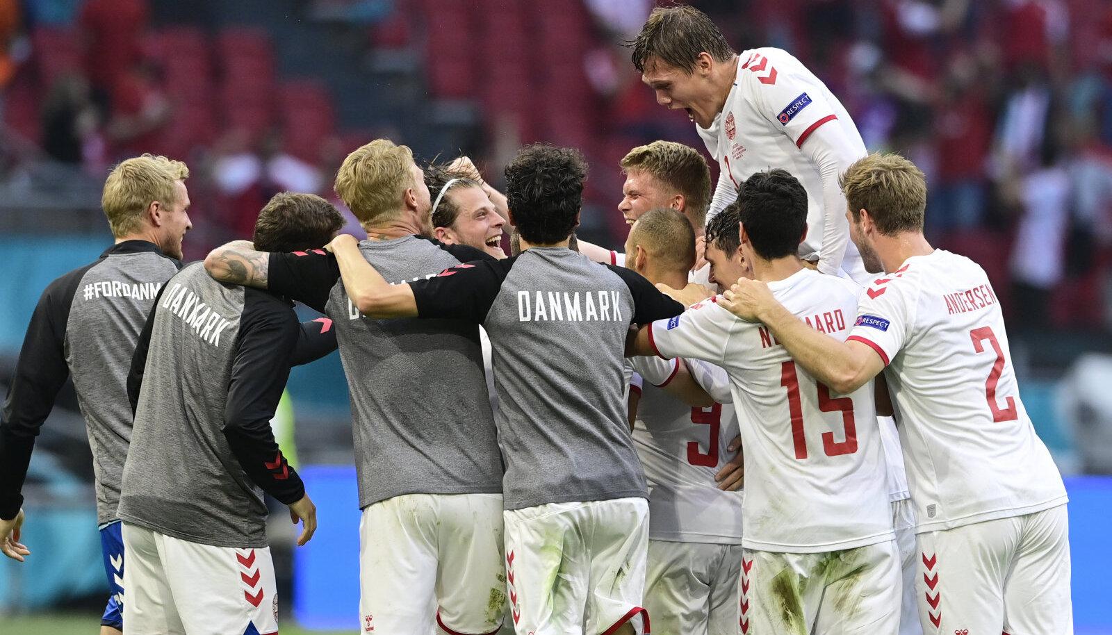 Taani koondis on viimases kahes mängus näidanud väga atraktiivset jalgpalli.