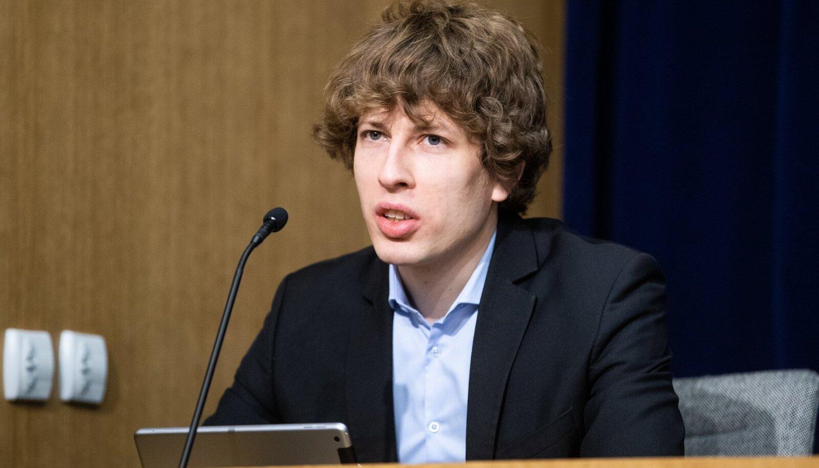 Tervise- ja tööminister Tanel Kiik