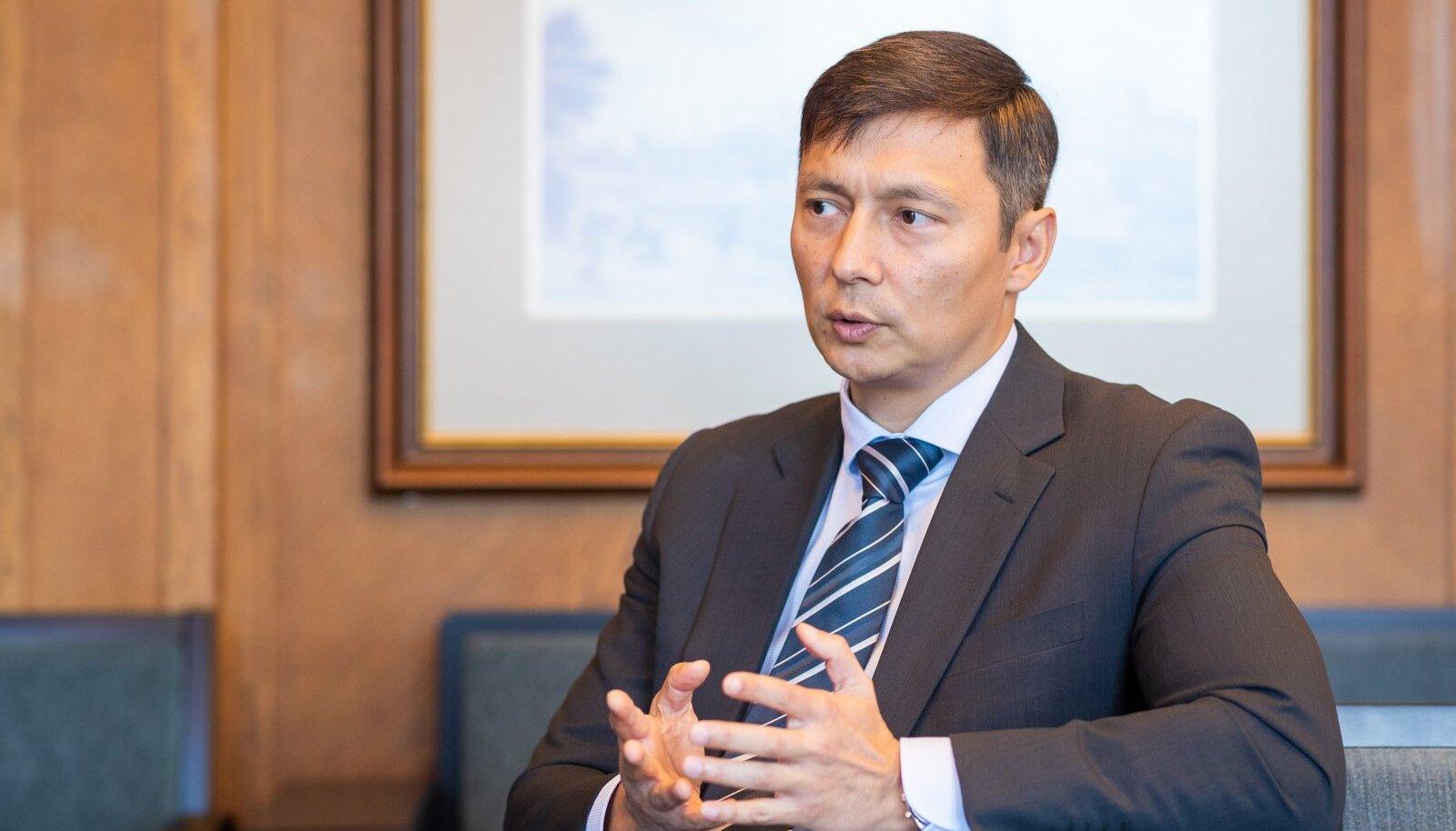 Mihhail Kõlvart, Tallinna linnapea.