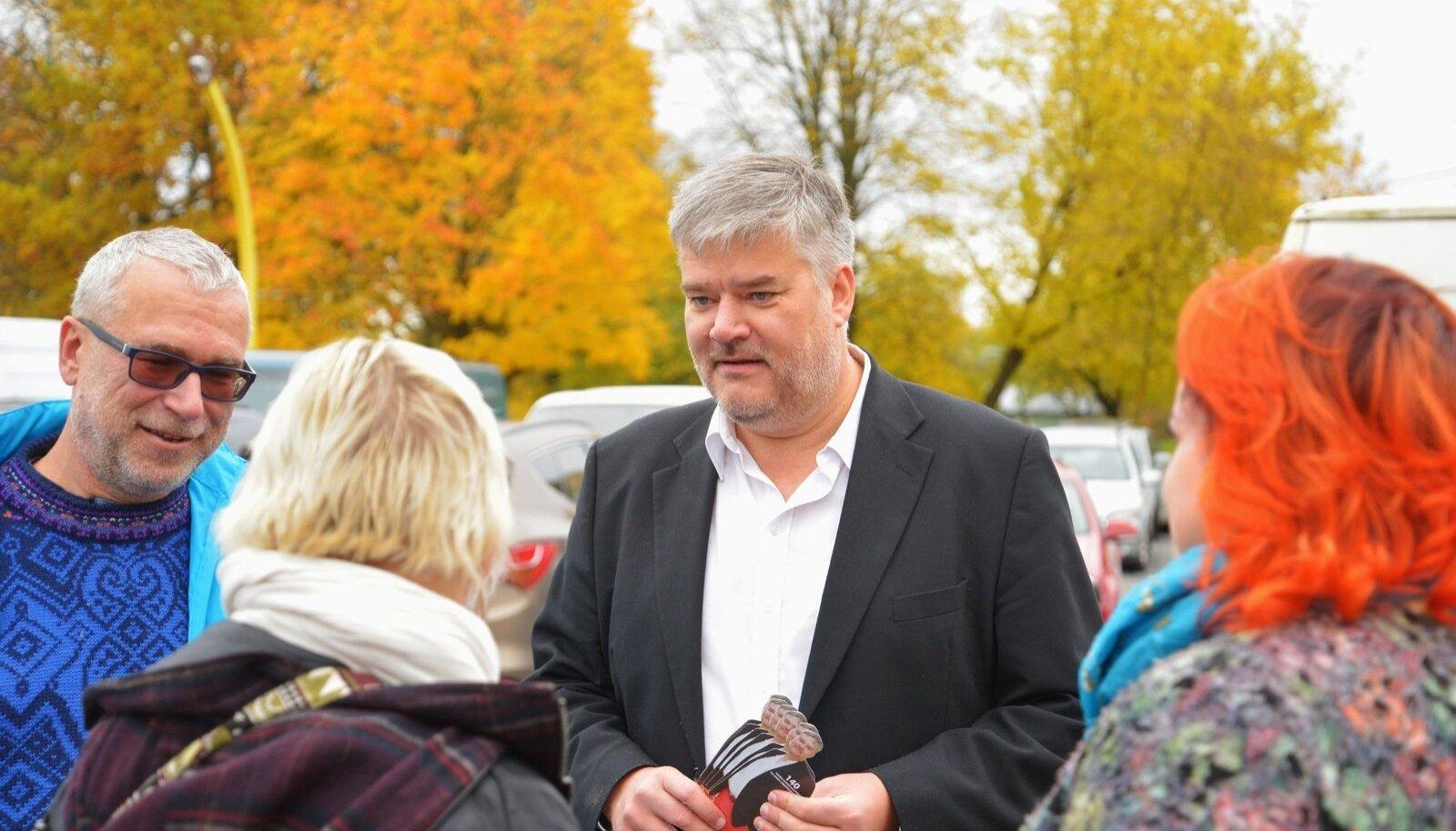 Viljandi küünlatehase Hansa Candle omanik Harri Aaltonen