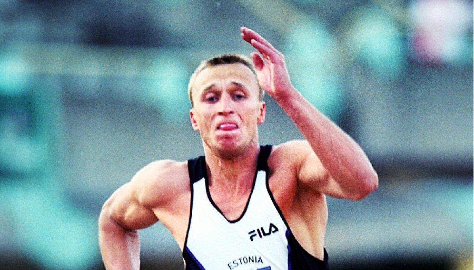 Soosaar 2000. aastal Euroopa karikavõistlusel Kaunases, kus ta hüppas oma toonase hooaja tipptulemuse 7.60.