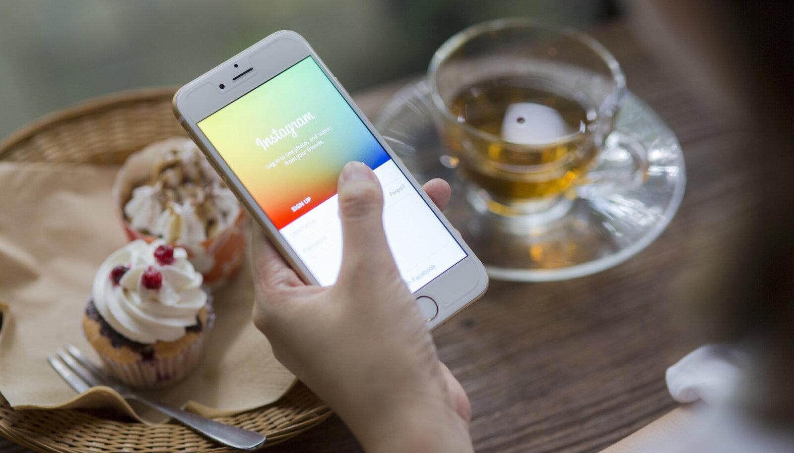 Instagram ja teised sotsiaalmeedia kanalid mõjutavad meie vaimset tervist