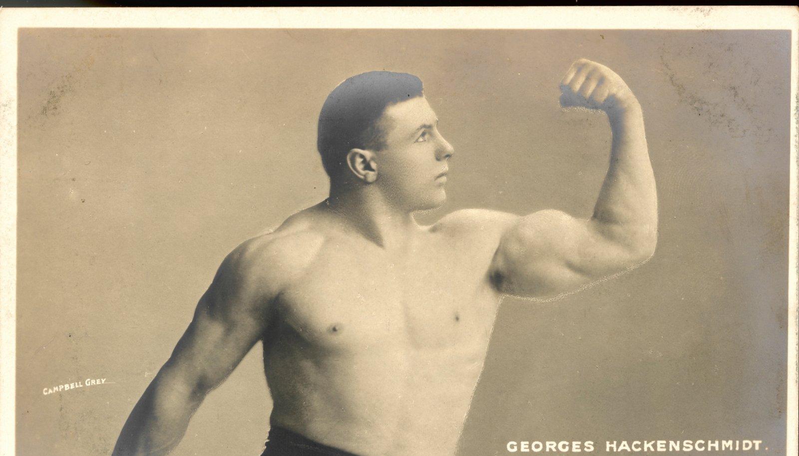 Georg Hackenschmidt ei kaotanud kümne aasta jooksul ainsatki matši.