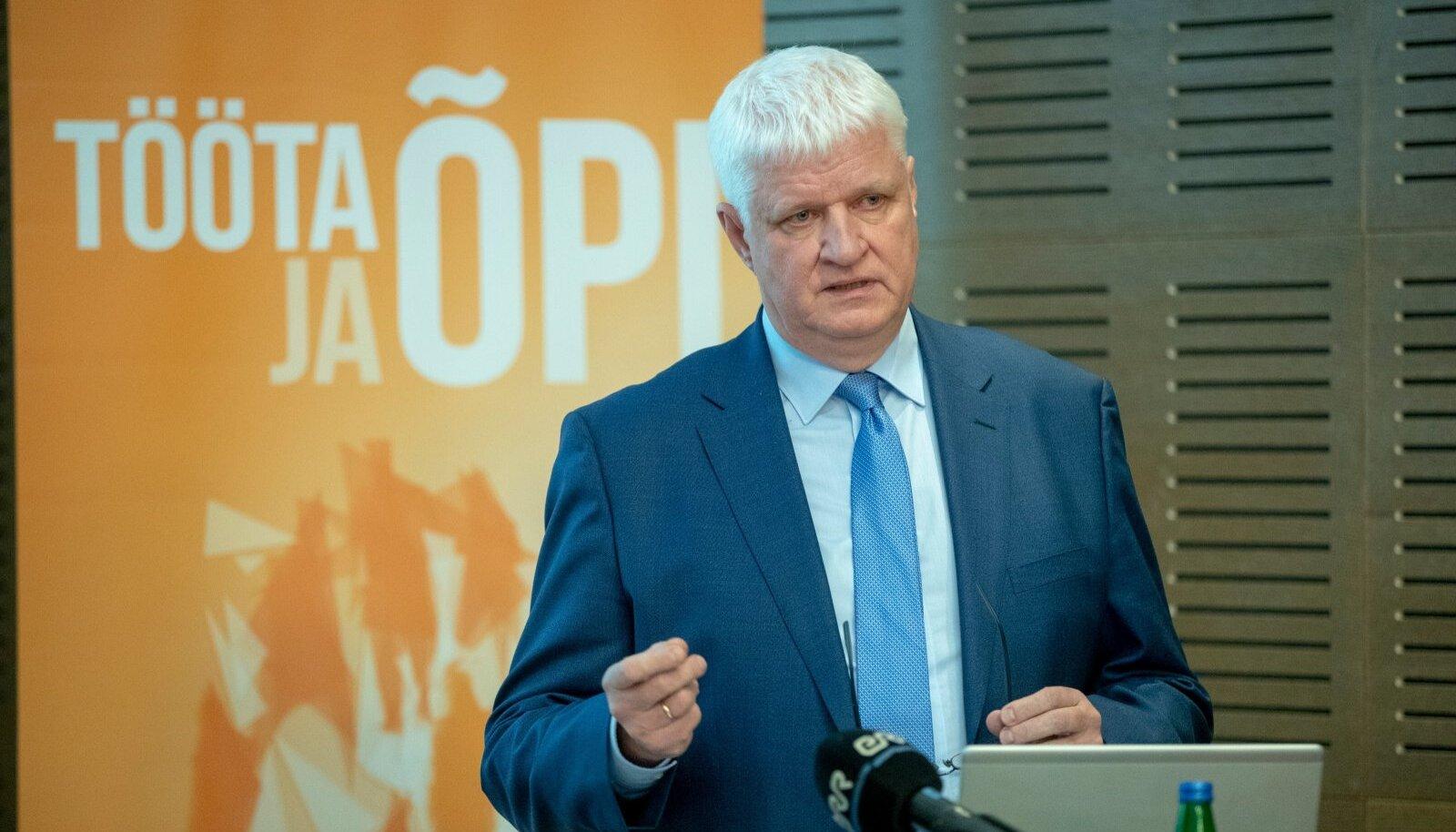 Meelis Paavel kinnitab, et töötukassa on kriisiks paremini valmis kui 2009. aastal.