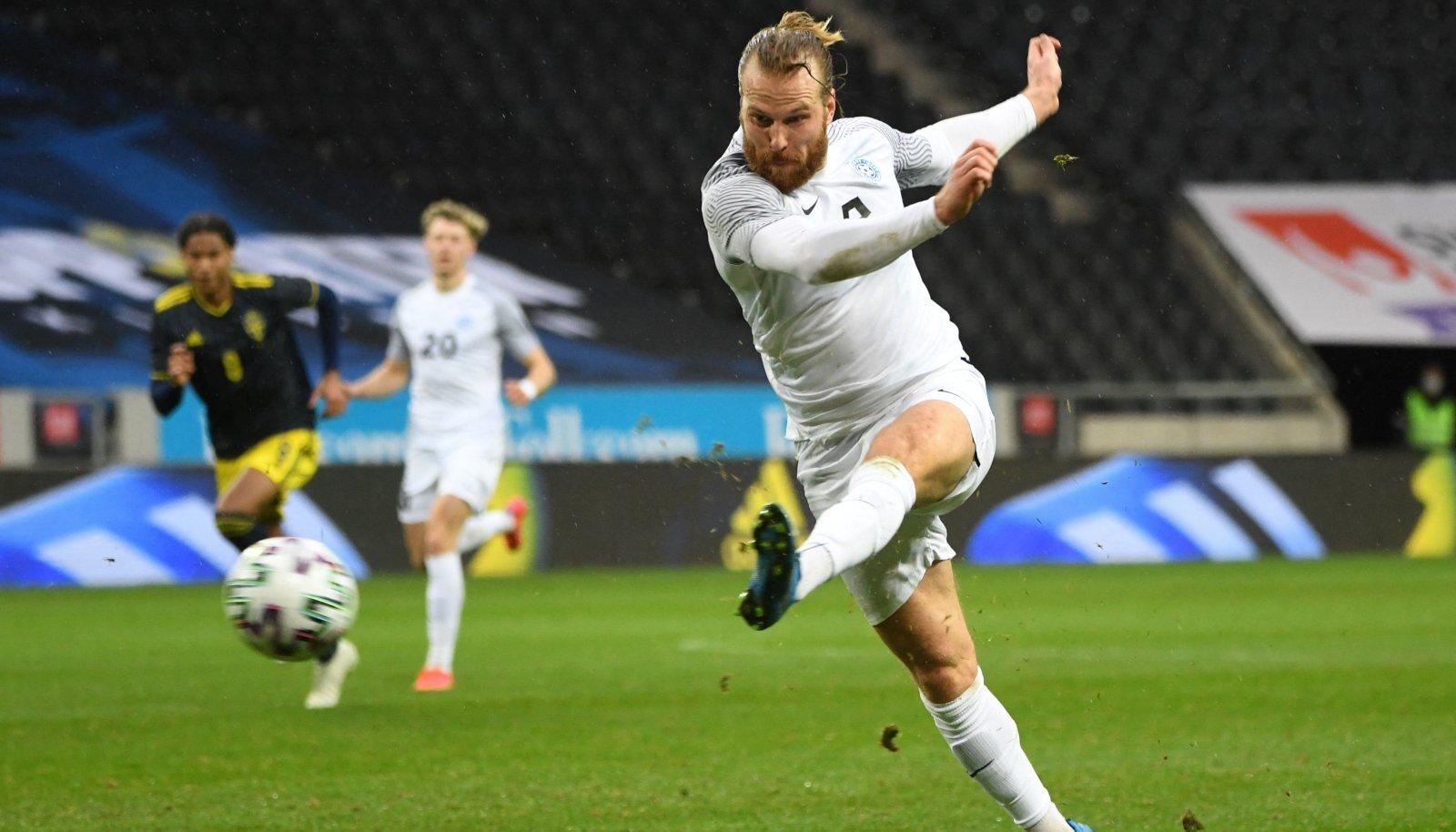 Henri Anier on koondises viimase nelja mänguga löönud neli väravat.