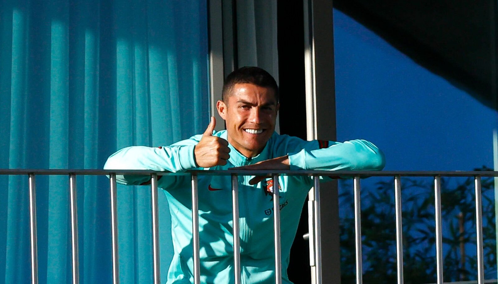 Cristiano Ronaldo Lissaboni hotellis