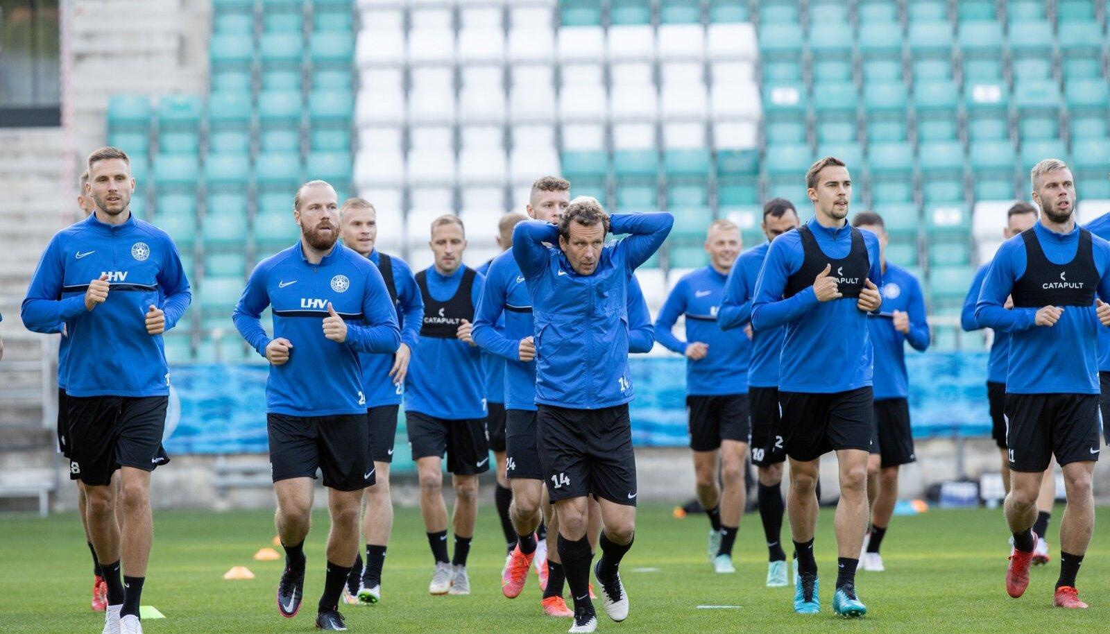 Eesti jalgpallikoondist ootab kohtumine Thomas Häberli ajajärgu seni kõige tugevama vastasega.