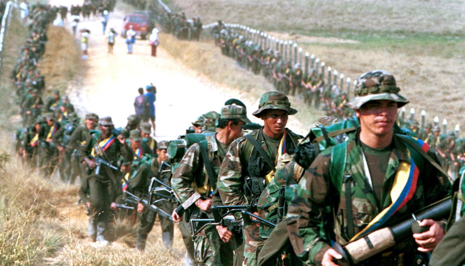 FARCi võitlejad 1999. aastal