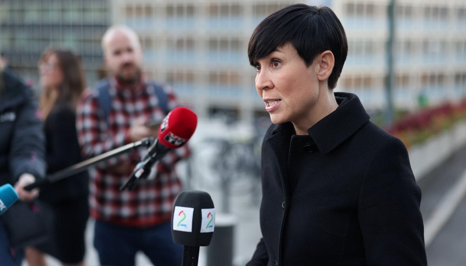 Norra välisminister Ine Eriksen Søreide kommenteerib juhtumit