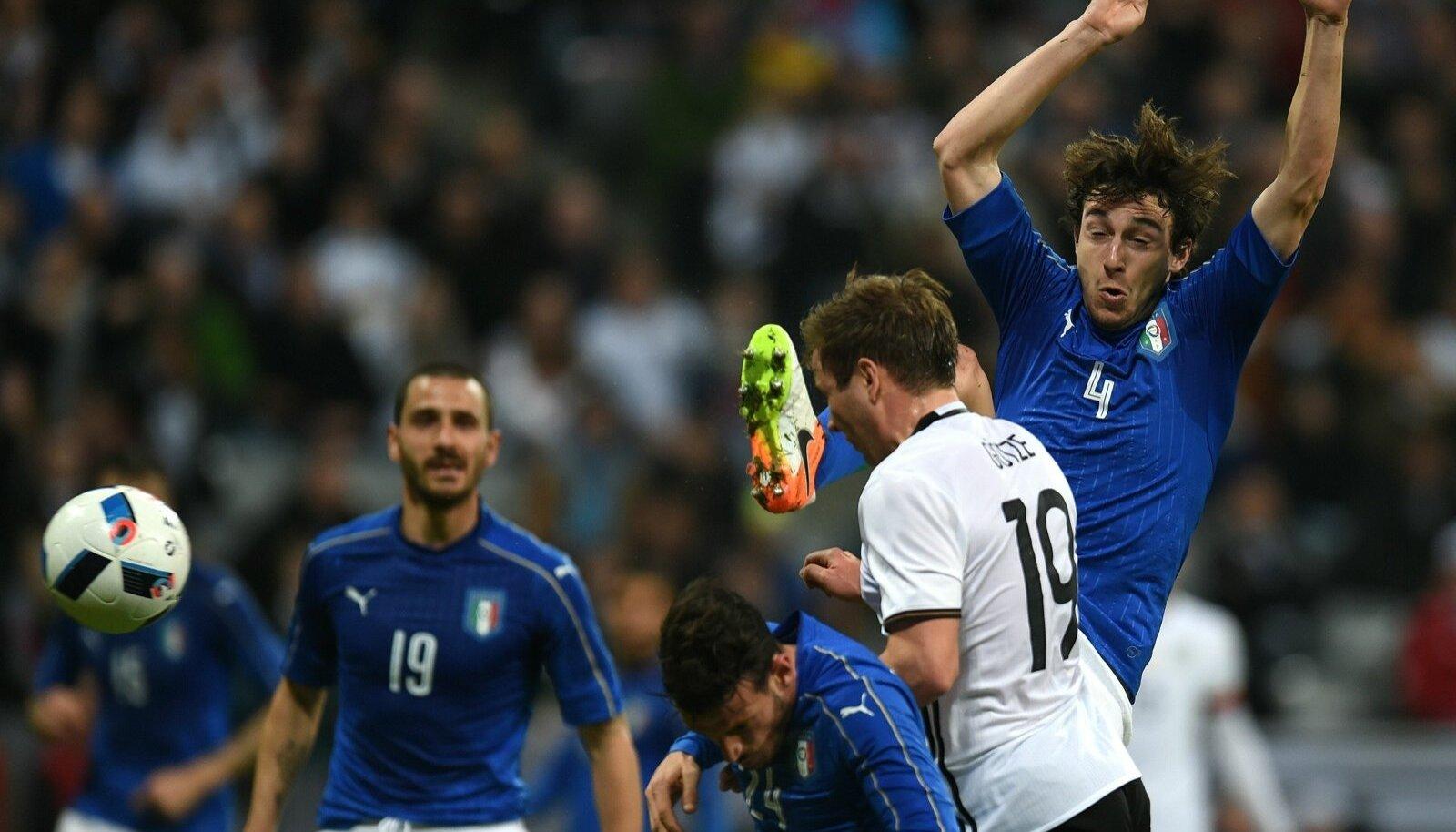 Kas Itaalia suudab Saksamaale samamoodi vastu nina anda nagu seni suurturniiridel?