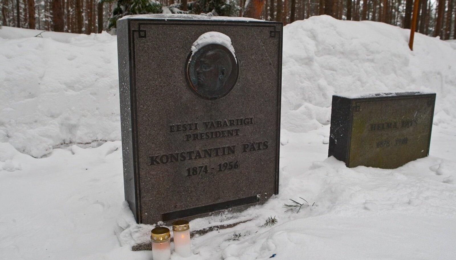 Konstantin Pätsi haud