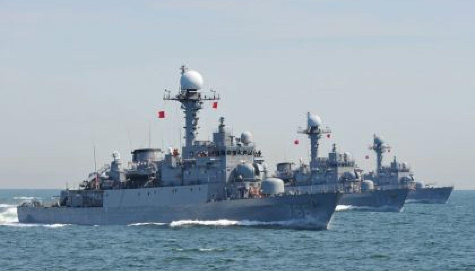 Lõuna-Korea sõjalaevad