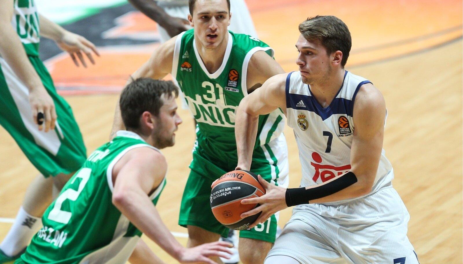 Euroleague Basketball: UNICS Kazan 77 - 81 Real Madrid