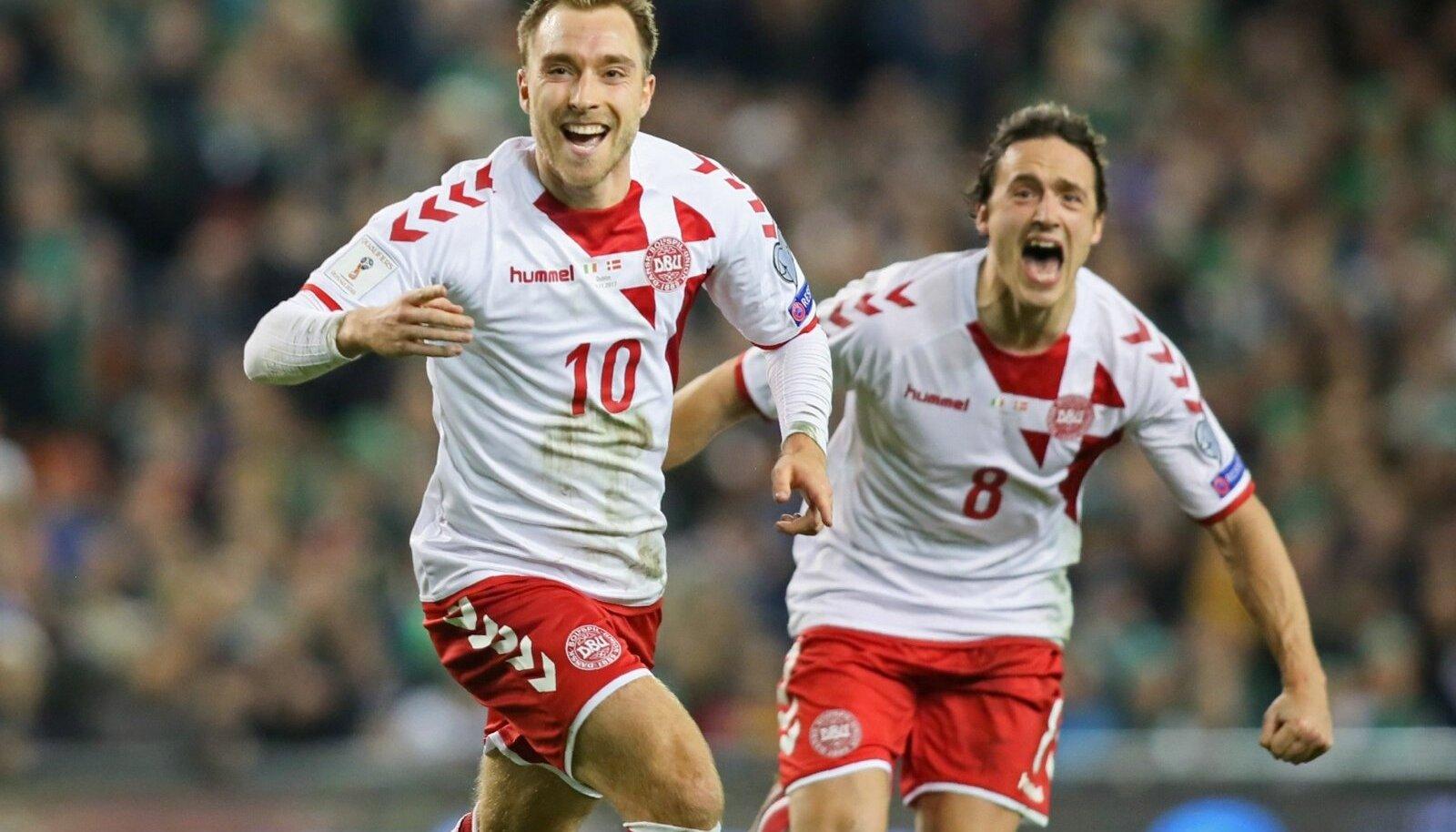 Taani koondise mäng sõltub suuresti Christian Eriksenist.