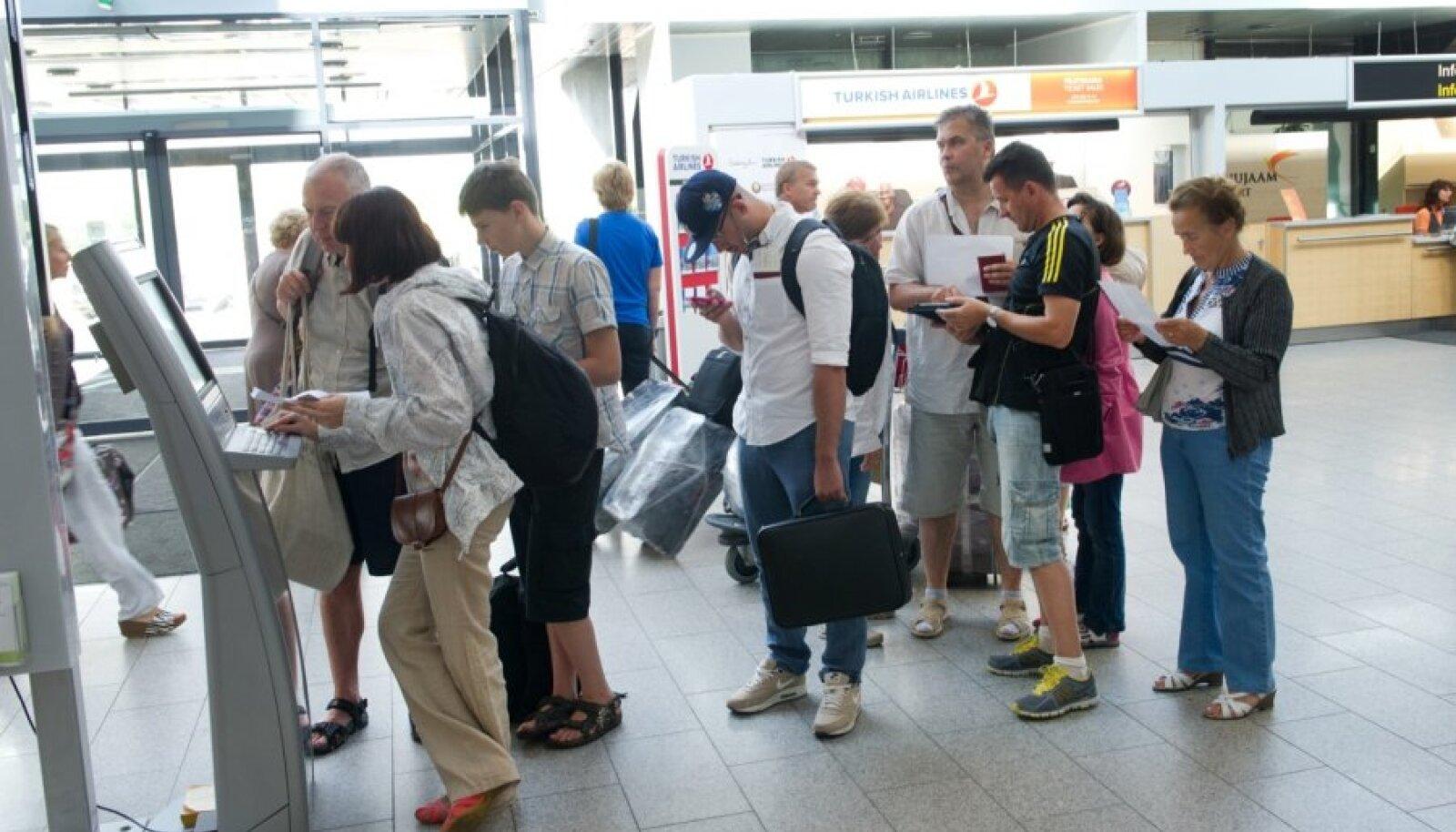 Chek-in Tallinna Lennujaamas
