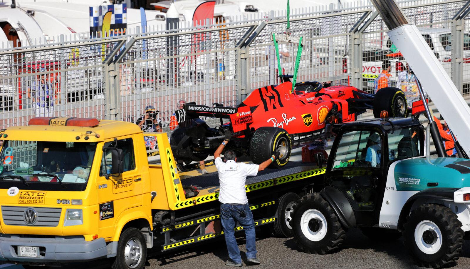 Sebastian Vetteli masin