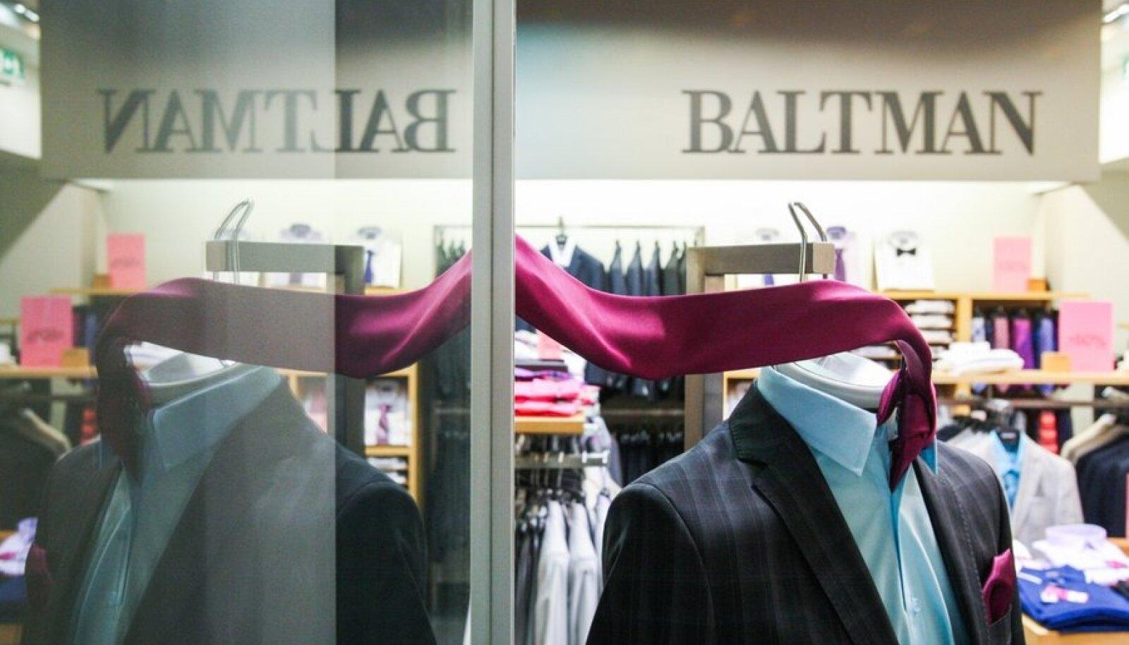Baltika Gruppi kuuluva Baltmani kodulehel saab paljude kaupadega tutvuda, kuid mitte veel osta.