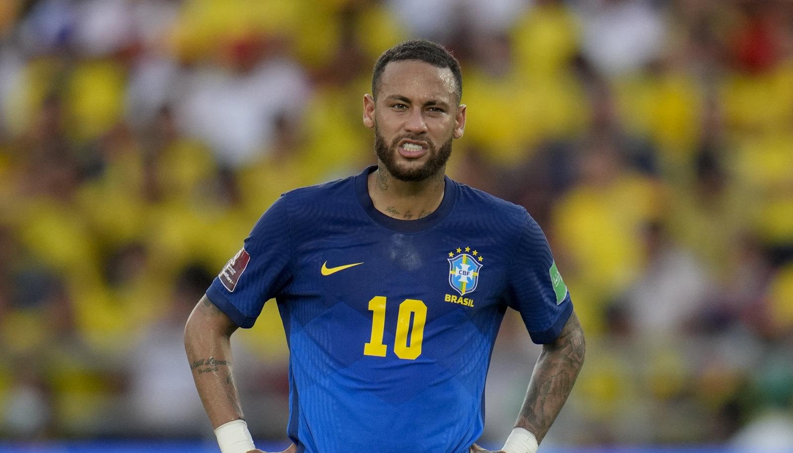 Neymar ja Co pidid sedapuhku viigiga leppima.