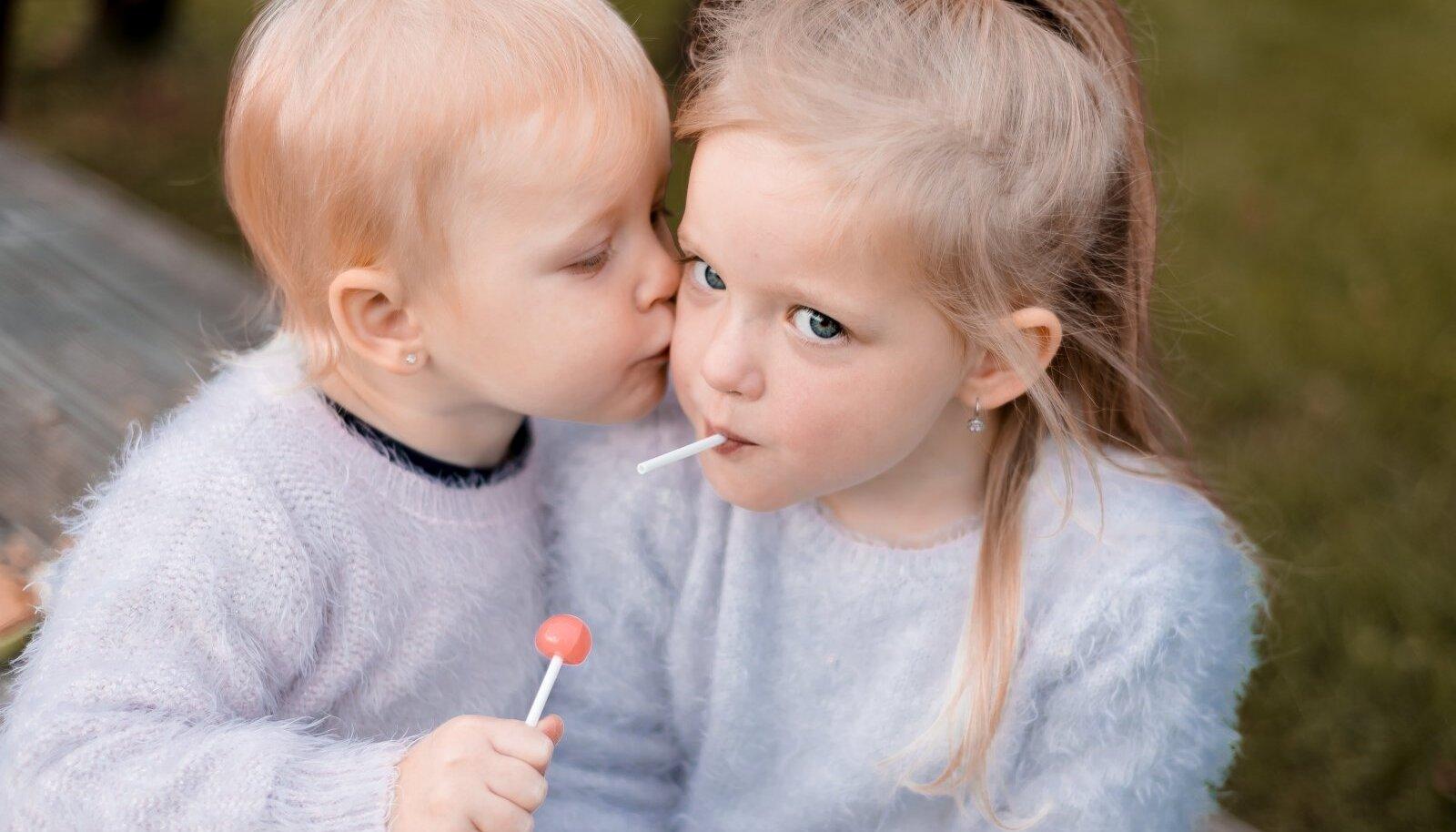 Lapsed ja kõrvarõngad