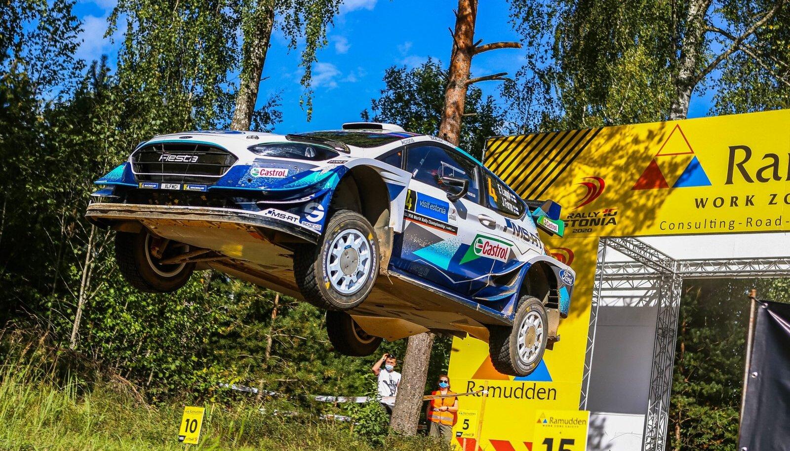 Esapekka Lappi Rally Estonial