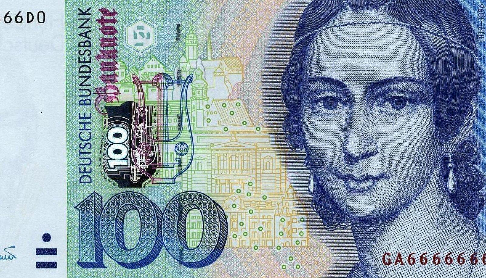 Saksamaa 100-margane rahatäht