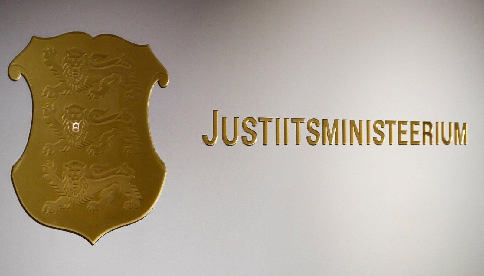 Kriminaalstatistika pressikonverents justiitsministeeriumis