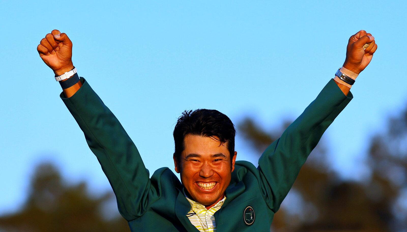 Karjääri esimese suurturniiri võitnud Hideki Matsuyama.