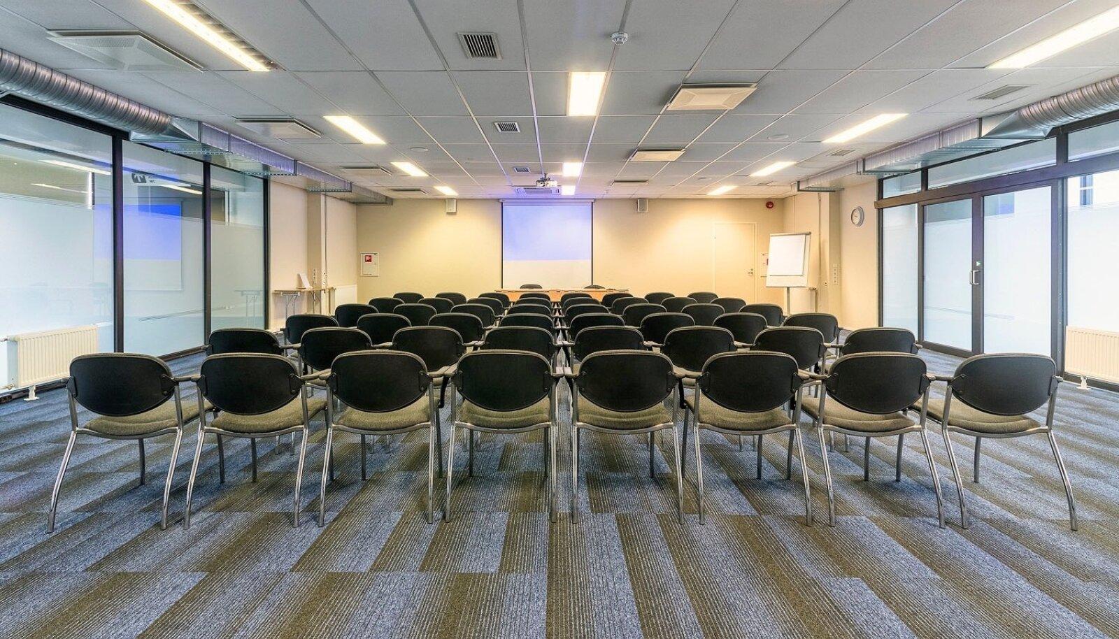 Spad ja konverentsikeskused on pidanud saale tühjana hoidma mitmeid kuid. Foto on illustratiivne.