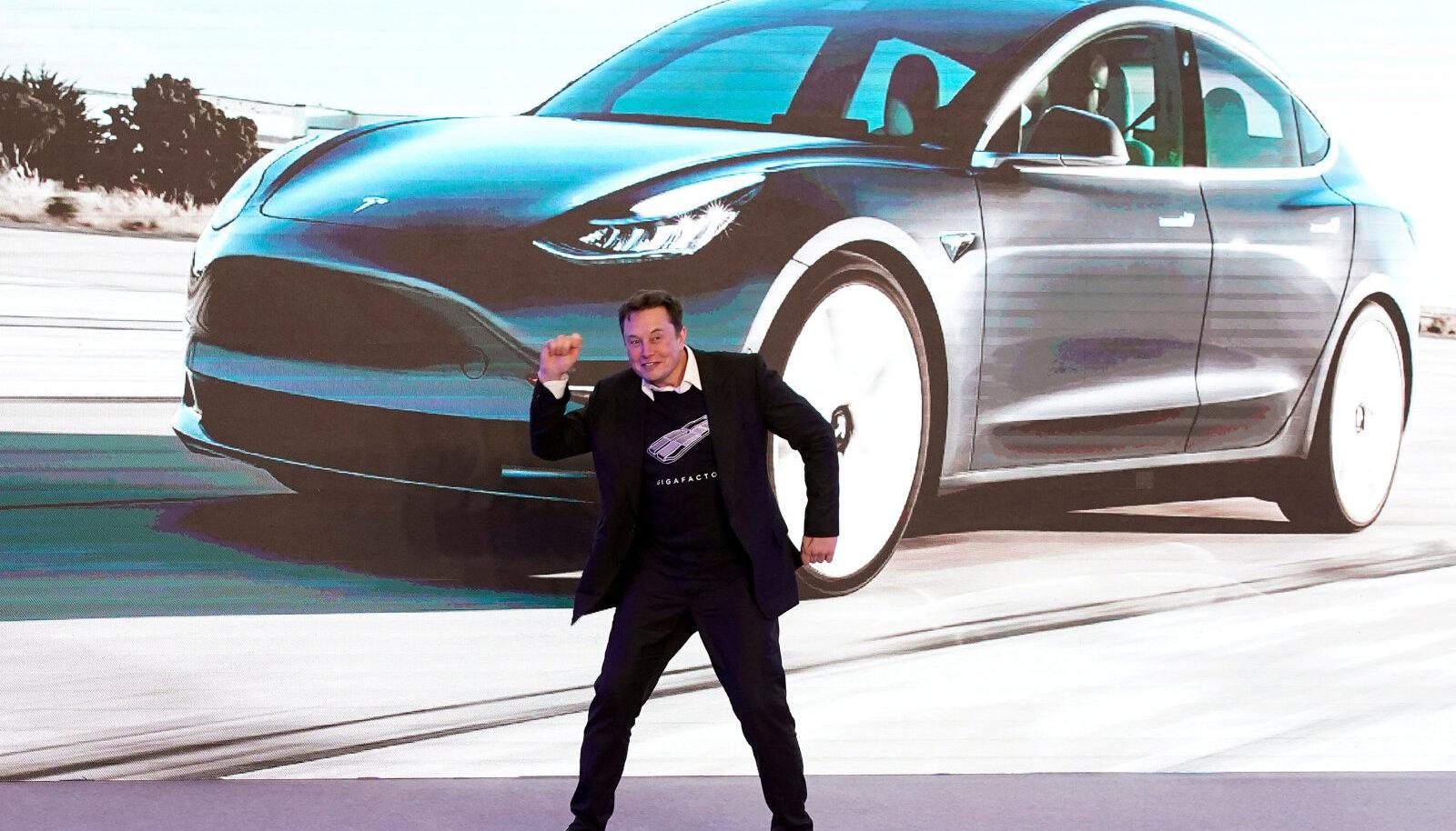 Tesla asutaja Elon Musk