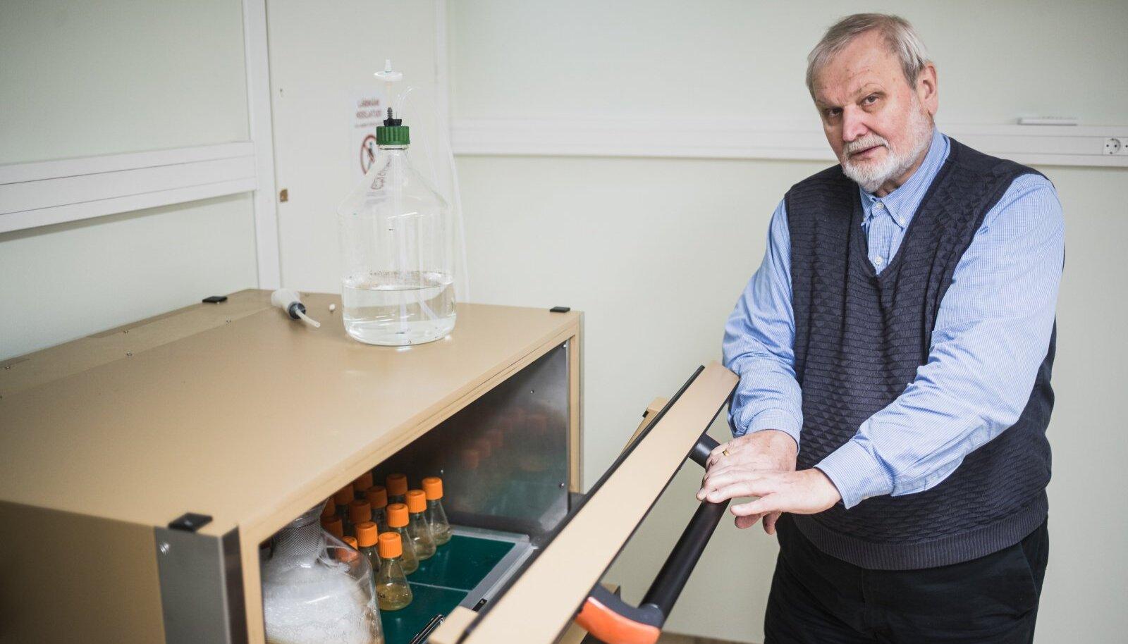 Mart Ustav, mees kes mõtles välja koroonaviiruse vastase ninasprei.