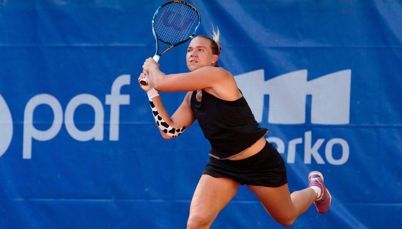 Kaia Kanepi mängib Merko Estonian Openil