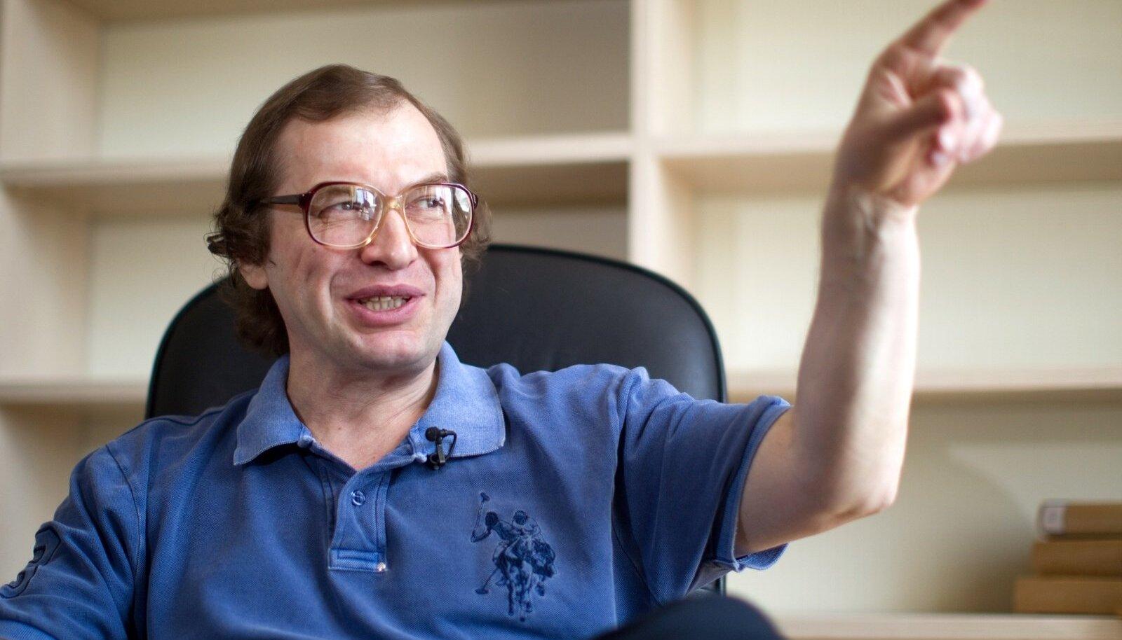 Entrepreneur Sergei Mavrodi gives interview