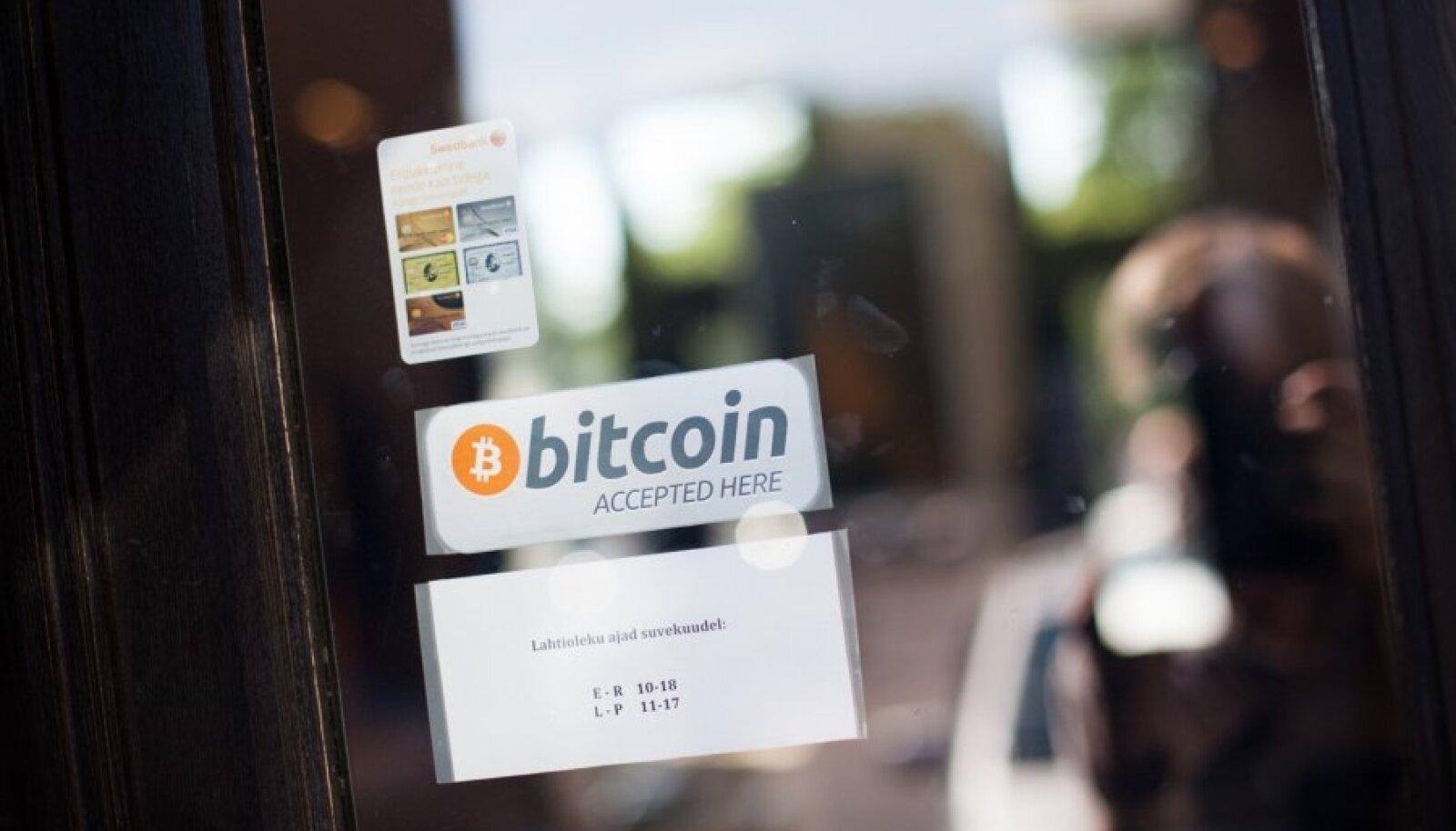 Bitcoiniga saab maksta ka Eestis